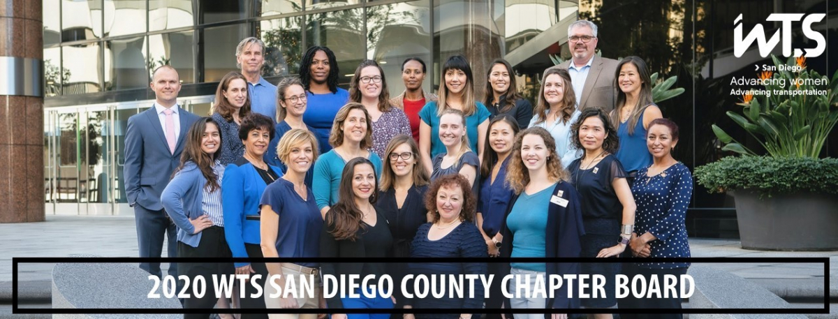 WTS San Diego County Chapter 2020 Board Photo