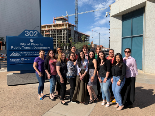 The Women of the City of Phoenix Public Transit Department